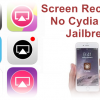 AirShou, AirRec & More Screen recorders ready without Cydia/Jailbreak