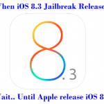 Early Signs for install Cydia to iOS 8.3 and iOS 9 jailbreak