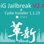 TaiG 2.4.3 with latest Cydia Installer 1.1.23