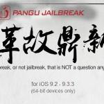 Pangu jailbreak iOS 9.2 – 9.3.3 released !