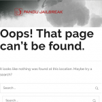 "Pangu web based Jailbreak ""Unable to download App"" / ""File not Found"" Error message"