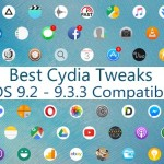 Best Cydia apps & tweaks you should install with iOS 9.3.3 jailbreak