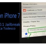 Cydia on iPhone 7 – iOS 10.0.1 jailbreak update by Luca Todesco