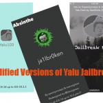 Yalu Jailbreak Modified Versions – Yalu Dark, Absinthe, Yalu103 Download