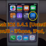 How To Download Cydia For iOS 8.4.1 With EtasonJB Untethered Jailbreak [Tutorial]