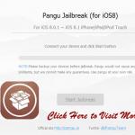 Cydia for MAC with Pangu 8