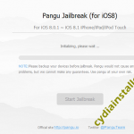 Cydia for iOS 8.2 with Pangu8
