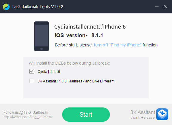 TaiG-jailbreak-tool-english