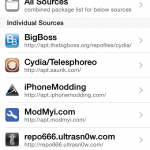 Cydia Sources after jailbreak your Device