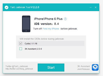 How to install Cydia for iOS 8.4 - 8.1.3 with TaiG jailbreak?