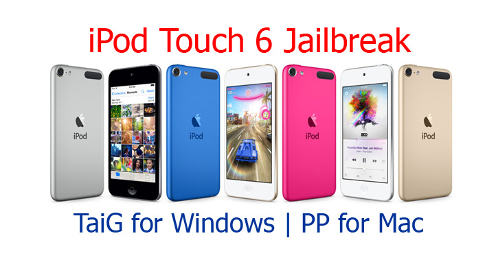 New iPod Touch 6 - How to Jailbreak & install Cydia ?