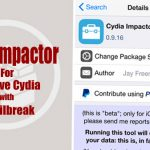 Cydia Impactor – Unjailbreak your iDevice without updating iOS