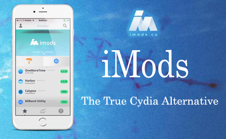 iMods - The true Cydia alternative is now ready !