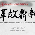 Pangu jailbreak iOS 9.2 – 9.3.3 released !