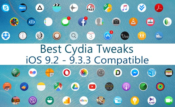 Best Cydia apps & tweaks you should try with iOS 9 3 3 jailbreak