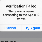Apple ID Server error with Third Party Apps installation (With/Without Cydia)