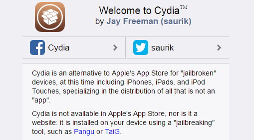 Cydia Download and Install without PC / without Jailbreak