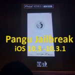 Pangu Jailbreak for Download Cydia iOS 10.3 / 10.3.1 Demoed !