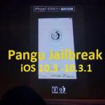 Pangu Jailbreak for Download Cydia iOS 10.3 / 10.3.1 Demoed !