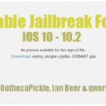 Download Cydia iOS 10 – 10.2 with extra_recipe Stable Jailbreak for iPhone, iPad