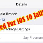 Cydia Eraser Gets Update For iOS 10 Jailbreak – How To Download & Use ?